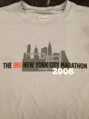 NYC MARA 2006 (my 1st!)